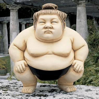 Sumo wrestlers eat before bed
