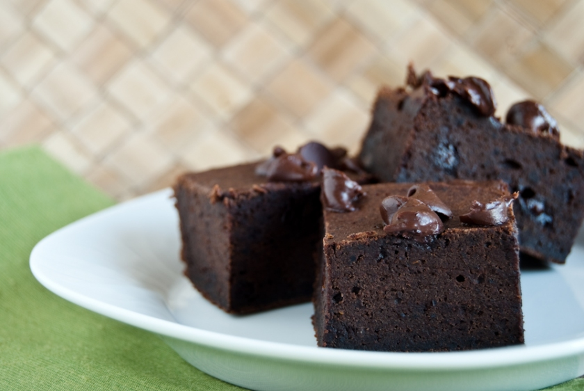 Black bean brownies from Every Food Fits